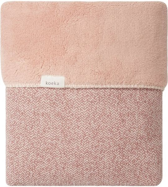 Wiegdeken Vigo Teddy / Old Pink/Shadow Pink