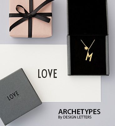 Archetype letters Gold Large A-Z