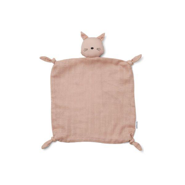 Agnete Cuddle Teddy / Cat Rose