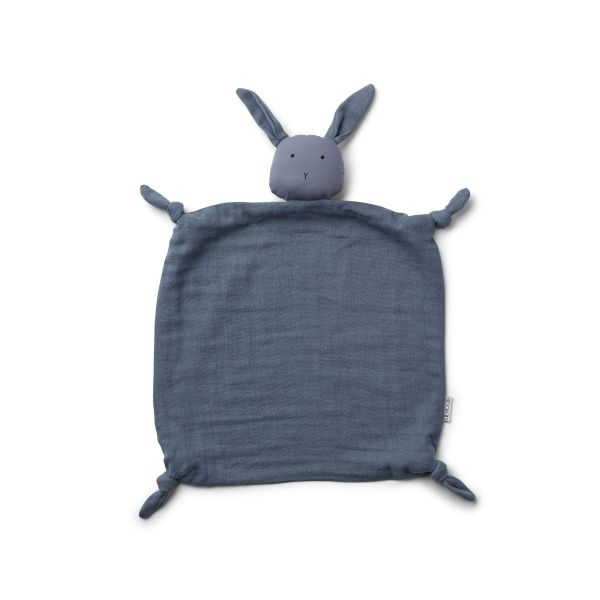 Agnete Cuddle Teddy / Rabbit Blue Wave
