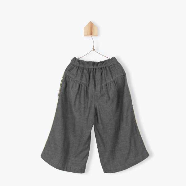Jupe Culotte Tweed / Anthracite