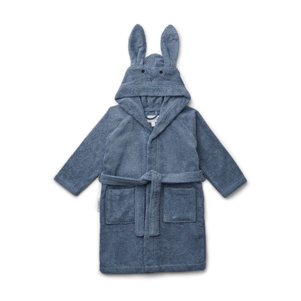 Lily Bathrobe / Rabbit Blue Wave