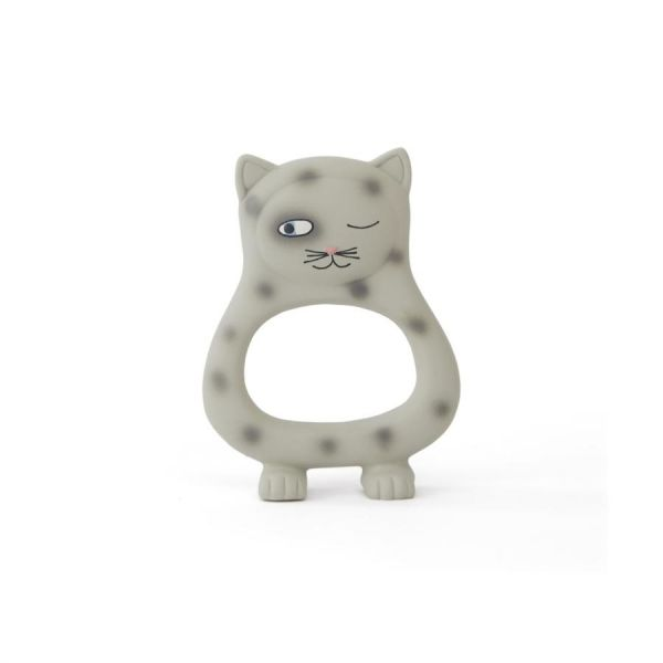 Benny Cat Baby Teether / Grey