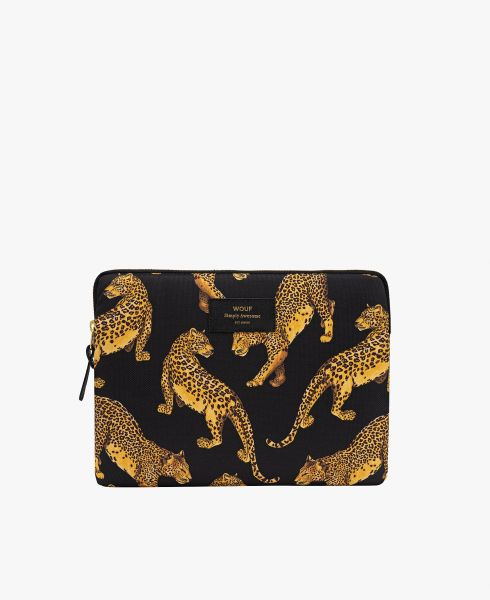 iPad Sleeve / Black Leopard