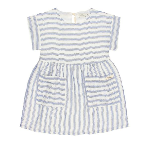 Diana Stripes Dress / Indigo