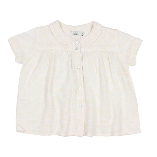 Lili Romantic Blouse / Talc