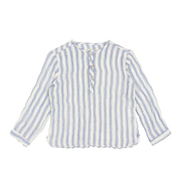 Paul Stripes Shirt / Indigo