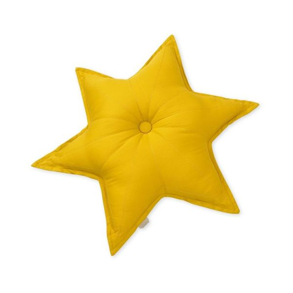 Star cushion / Mustard