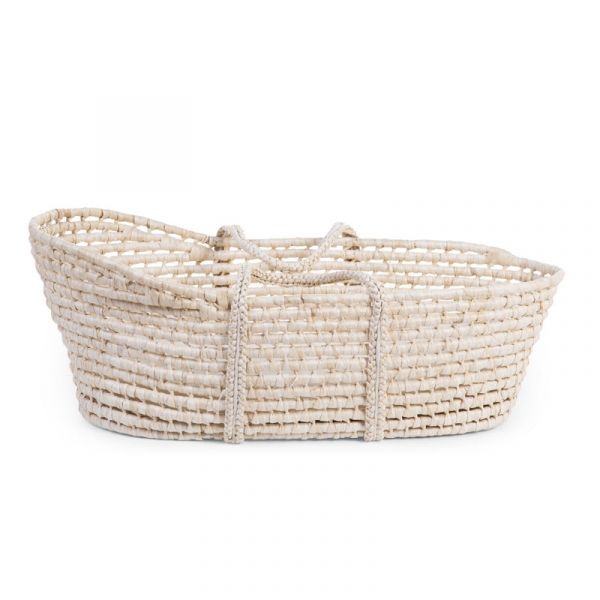 Moses basket natural + matras