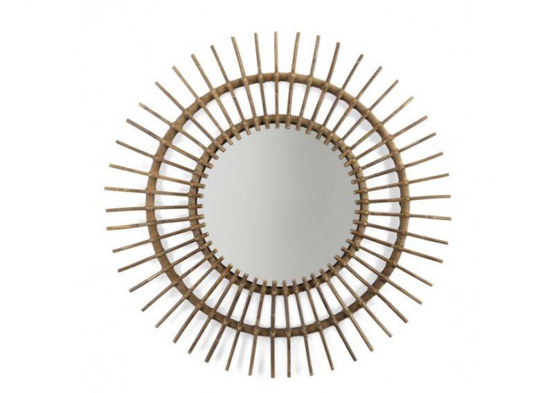 Rattan Spiegel Aura