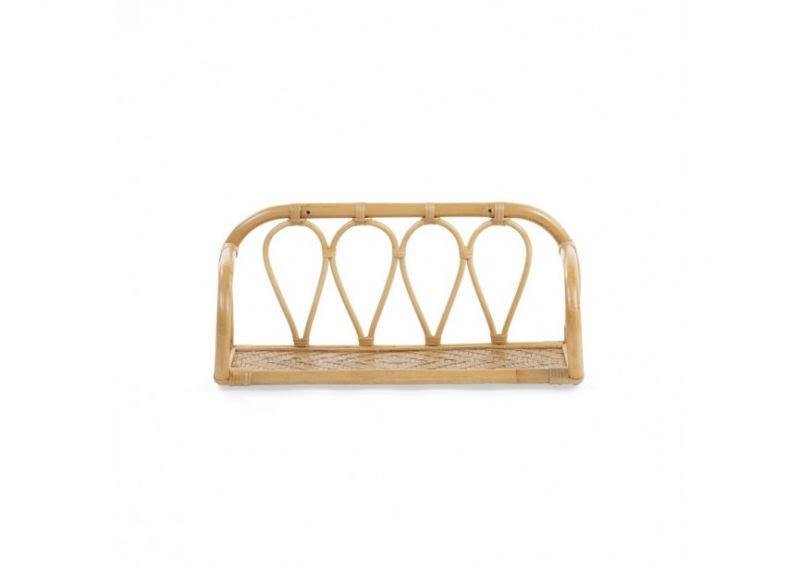 Rattan Wallshelf
