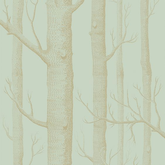 Behangpapier / Woods Mint