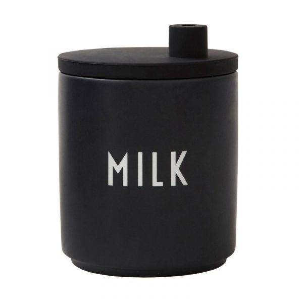 Porcelain Milk Jug / Black