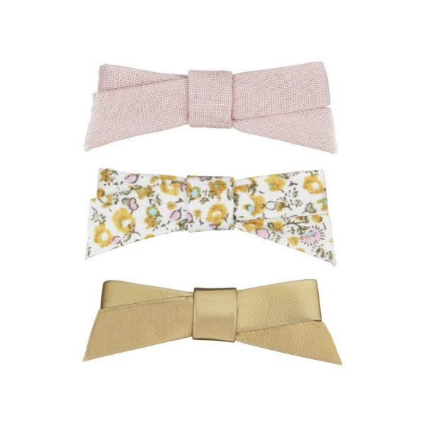 Floral Jeanie Bow Clip Pack