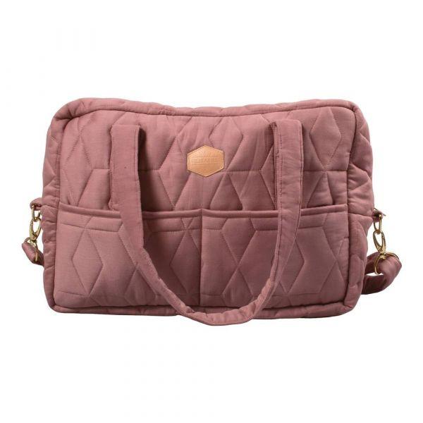 Mommybag soft quilt / Wild rose
