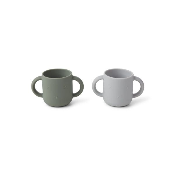 Gene Cup 2-pack / Rabbit Faune Green