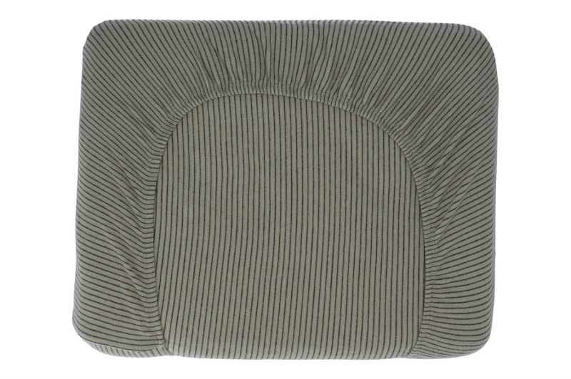 Hoeslaken Hermi Stripes Shadow (75 x 95 cm)