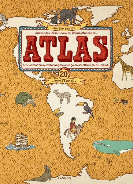 Atlas 20 extra landen / limited edition