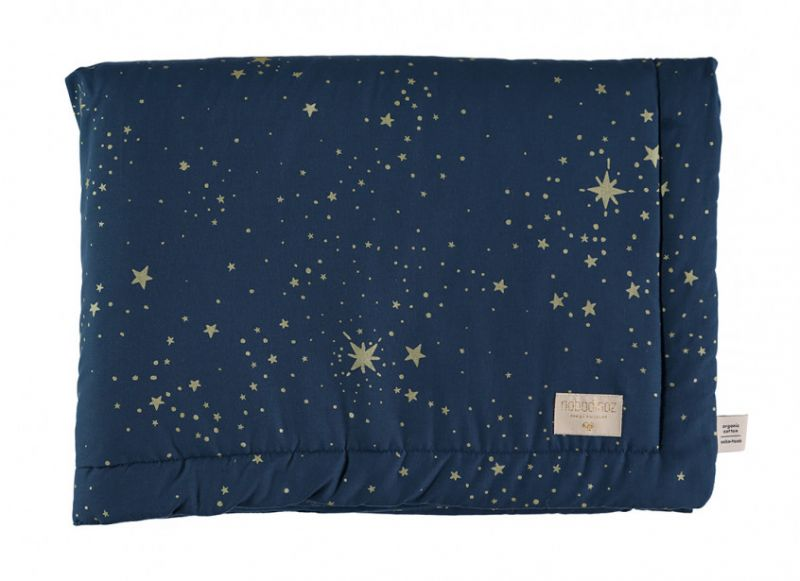 Laponia Blanket Small / Gold Stella - Night Blue