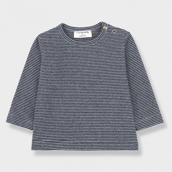 Liege LS T-Shirt / Light - Dark Blue