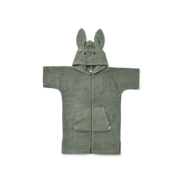 Lela Cape / Rabbit Faune Green