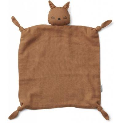 Agnete Cuddle Cloth / Cat Terracota
