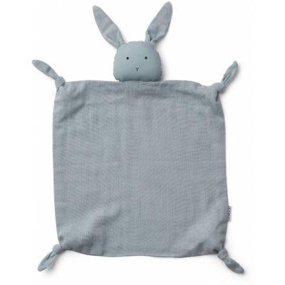 Agnete Cuddle Cloth / Rabbit Sea Blue