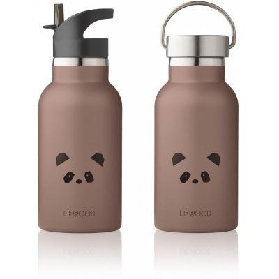 Anker Water Bottle / Panda Dark Rose