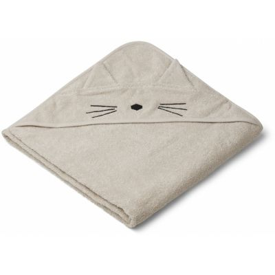 Augusta Hooded Towel / Cat Sandy