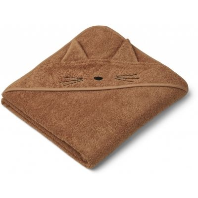 Augusta Hooded Towel / Cat Terracota