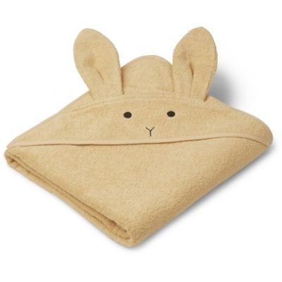Augusta Hooded Towel / Rabbit Smoothie Yellow