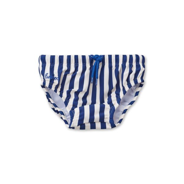 Frej Baby Swim Pants / Stripe Navy-Creme