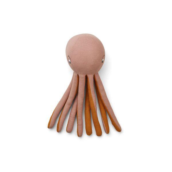 Helmer Knit Octopus / Rose