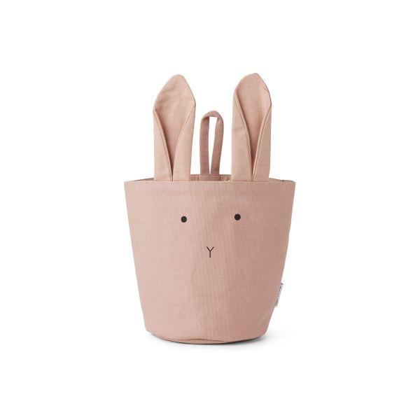 Ib Basket Rabbit Rose