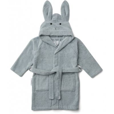 Lily Bathrobe / Rabbit Sea Blue