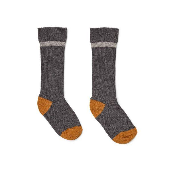Mia Knee Socks 2-Pack / Grey Melange