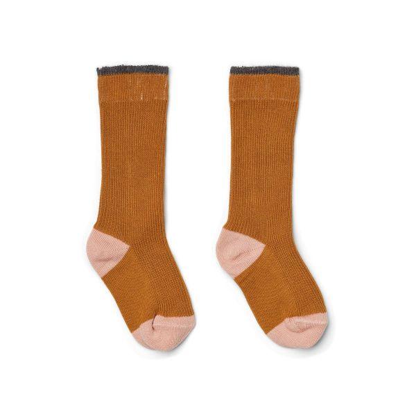 Mia Knee Socks 2-Pack / Mustard