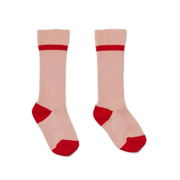 Mia Knee Socks 2-Pack / Rose