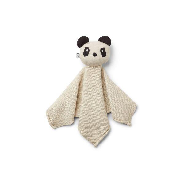 Milo Knit Cuddle Cloth / Panda Beige