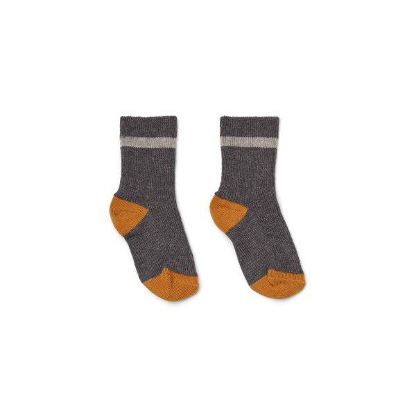 Valentin Socks 2-Pack / Grey Melange