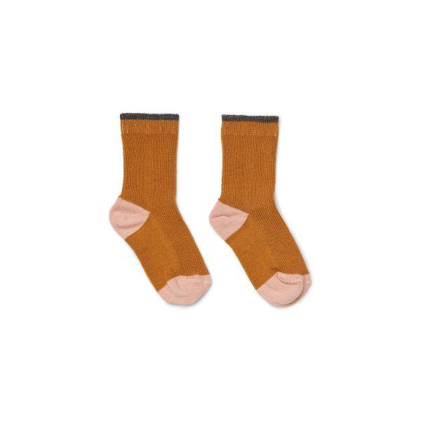 Valentin Socks 2-Pack / Mustard