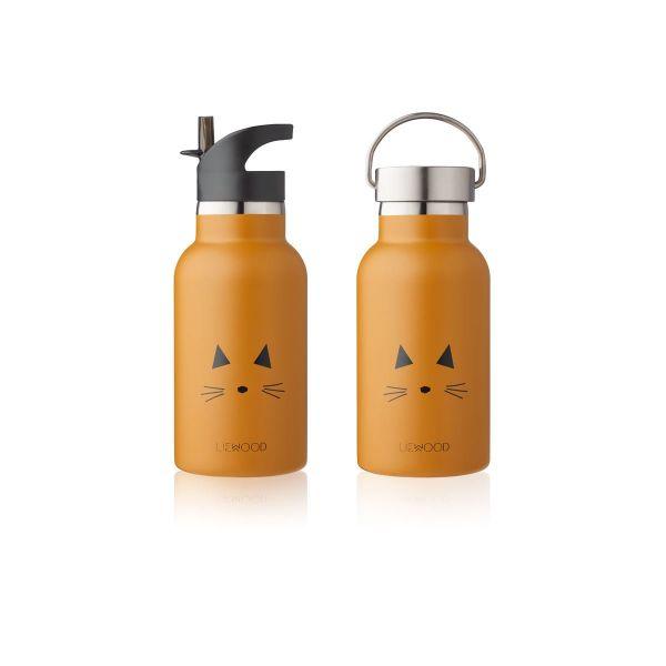 Anker Water Bottle / Cat Mustard