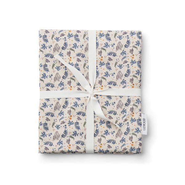 Ingeborg Junior Bedding Print / Coral Floral Mix