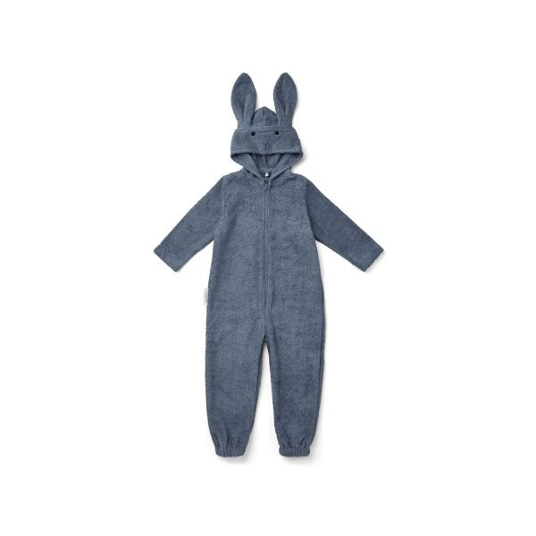 Taylor Jumpsuit / Rabbit Blue Wave