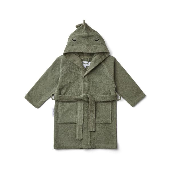 Lily Bathrobe / Dino Faune Green