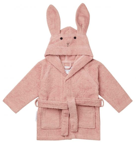 Lily Bathrobe Rabbit / Rose