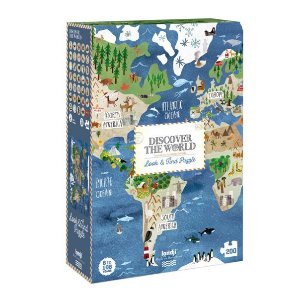 Puzzel - Discover the world