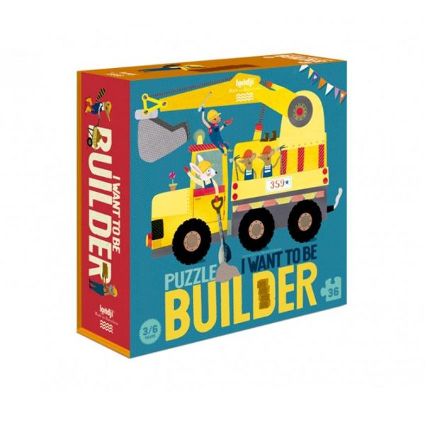Puzzel - I want to be a builder