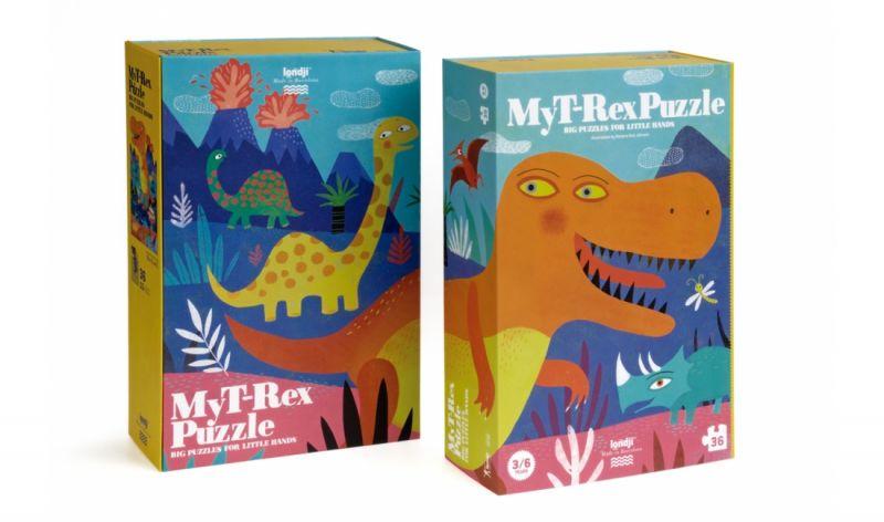 Puzzel - My T-Rex