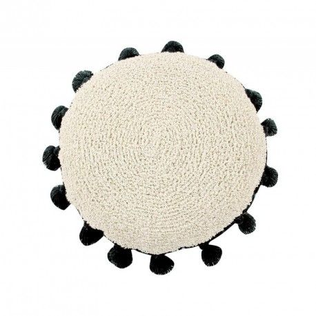 Cushion Circle Black